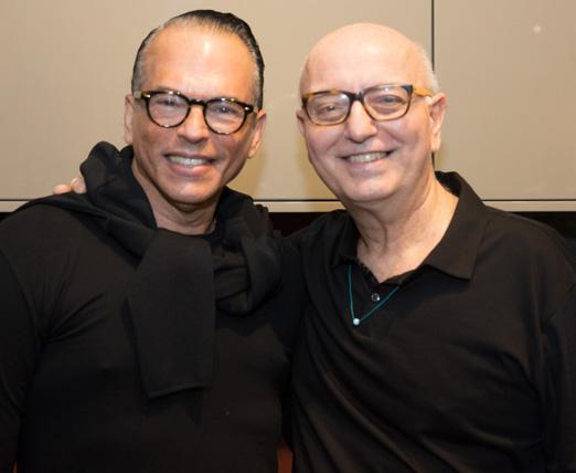 Heckel Verri e Alberto Sabino