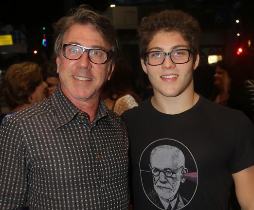 Jairo de Sender e o filho Miguel