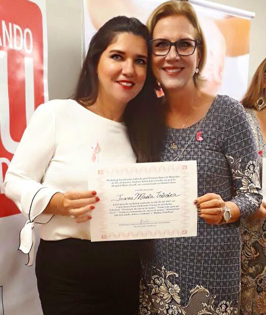 Joana Maria Teixeira e Sylvia Jane Crivella