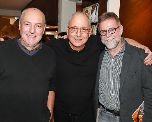 Josimar Melo, Paulo Abbud e Marcio Alemão