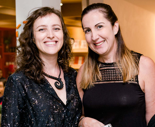 Julyana Weksler e Viviane Furtado