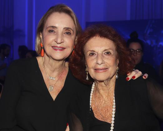 Laura Pederneiras e Eliana Moura