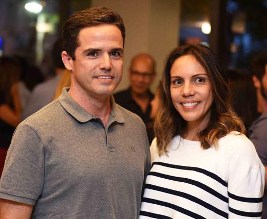 Leo Pinheiro e Babi Teixeira