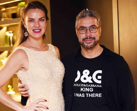 Leticia Birkheuer e Fernando Torquatto