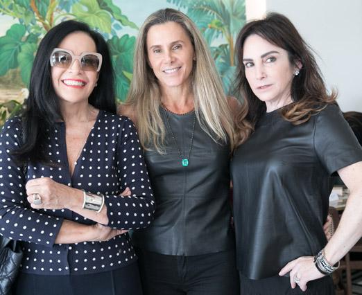 Liliana Rodriguez, Priscila Szafir e Kiki Perelmuter