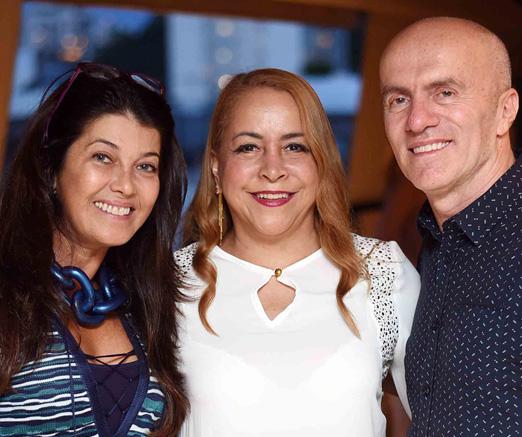 Livia Torres, Candida Virgínia Ribeiro e Gringo Cardia