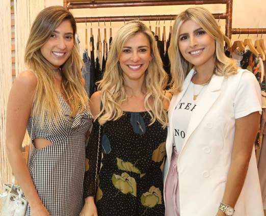 Lu D'Angelo, Paola Trindade e Dandynha Barbosa
