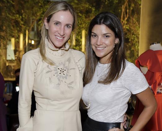 Luiza Ortiz e Fernanda Vidigal