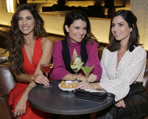 Luiza Sobral, Sofia Alckimin e Nicole Pinheiro