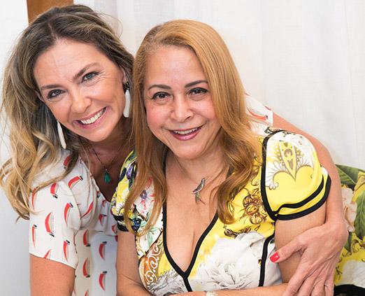 Márcia Veríssimo e Candida Virgínia Ribeiro