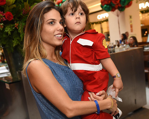 Mama e Guilherme Maluf