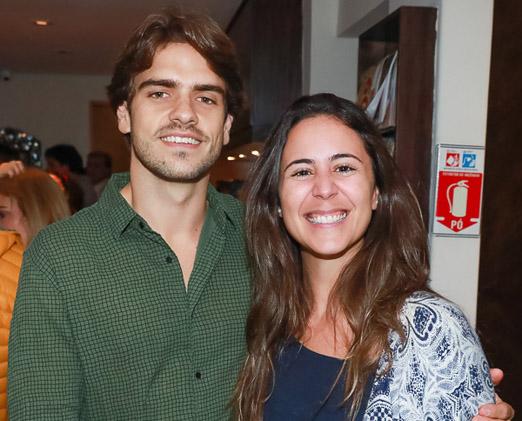 Marcelo Dreux e Carla Belintani