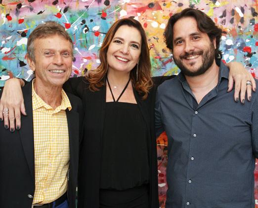 Marco Rodrigues, Alice Barbosa Lima e Horácio Ernani