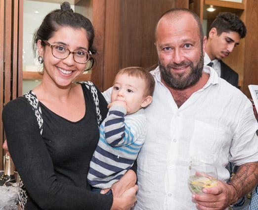 Maria Carolina, Antonio e Sergio Lagden