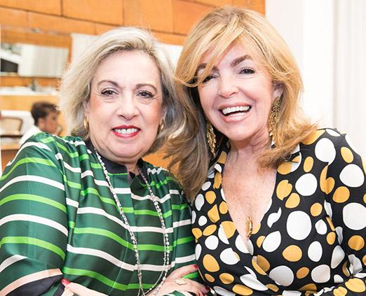 Maria Celia Moraes e Sonia Simonsen
