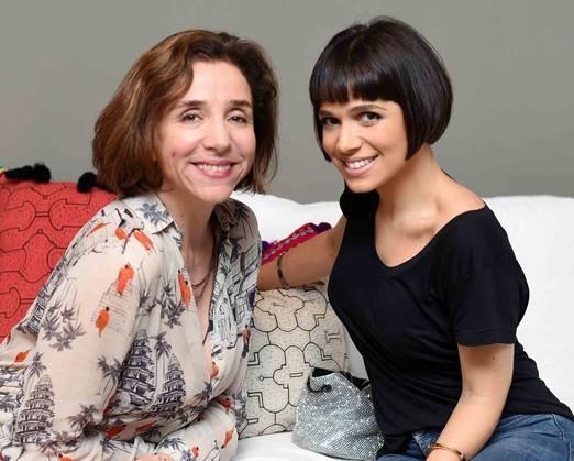 Marisa Orth e Sabrina Petraglia
