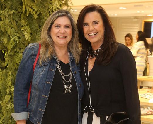 Marly Sampaio e Mara Sarahyba