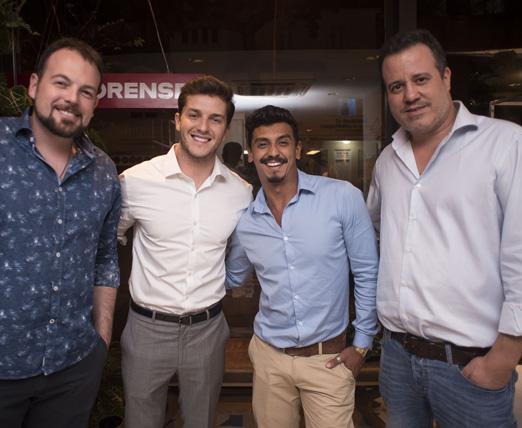 Mateus Corradi, Klebber Toledo, Preto Viana e Nicolas Delfino