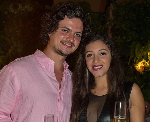 Mathias Isaksen e Lucilia Jimenez