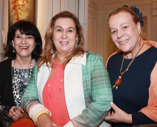 Micheline Thomé, Theresa Macedo e Sueli Lobo Lima