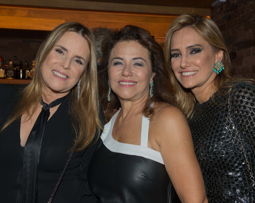 Monica Góes, Marta Isaksen e Gê Buffara
