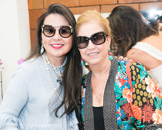 Monica Nakamura e Madeleine Saade