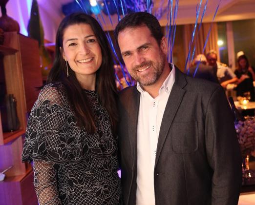 Monique Abrantes e Alexandre Villas Bôas
