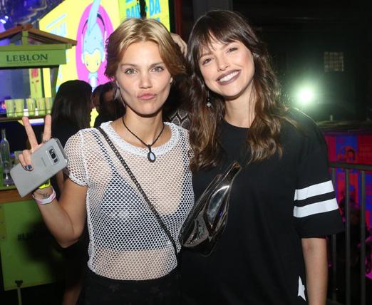 Pamela Tomé e Agatha Moreira