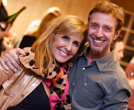 Patricia Hall e Nando Grabowsky