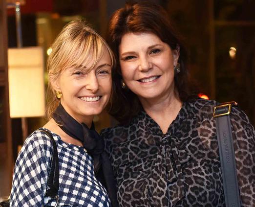 Patricia Marinho e Paula Neder