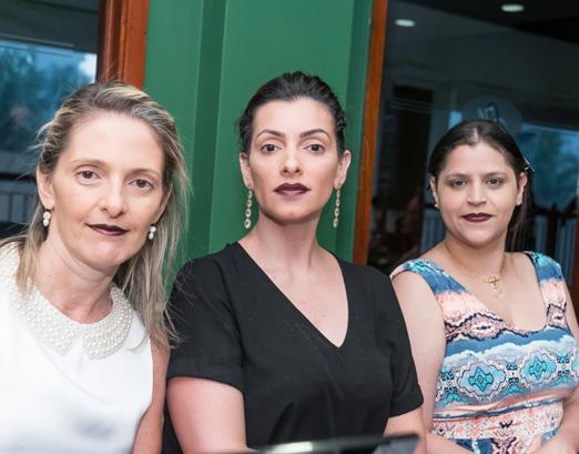 Patricia Monteiro, Stephanie Andrade e Pérola Ribeiro