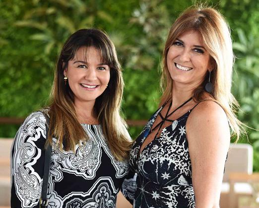 Patricia Netto e Andrea Moura Britto