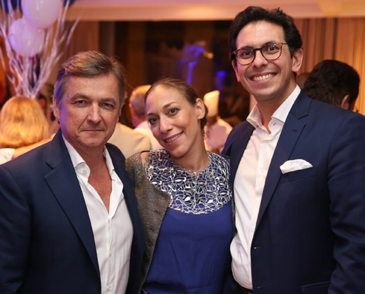 Patrick Sabatier, Ariana Sabatier e Netto Moreira