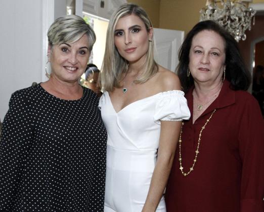 Paula Almeida, Dandynha Barbosa e Beth Serpa