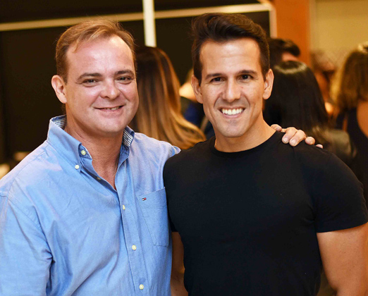 Pedro Szalay e Bruno Carvalho