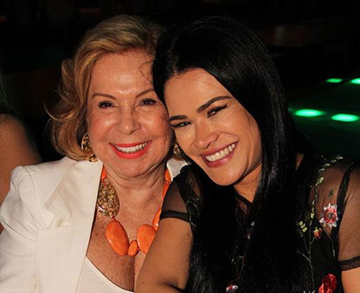 Rachel Gusmão e Rosa Leal