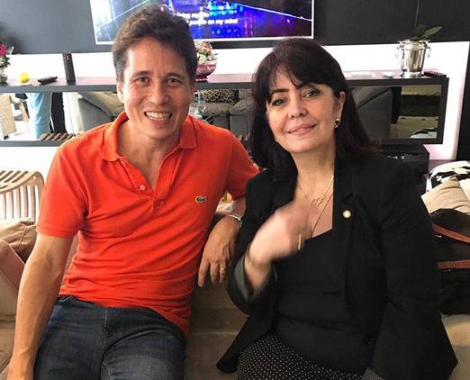 Rafael Higashi e Maria Luiza Nobre