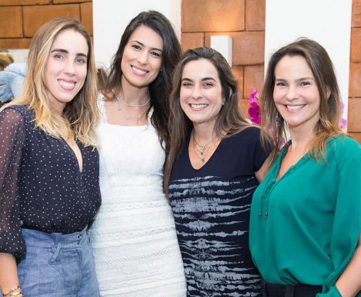 Rafaela Klien, Fran Zanon, Juliana Siqueira e Erika Cattapan