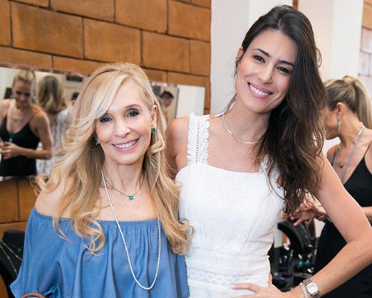 Regina Abramoff e Fran Zanon