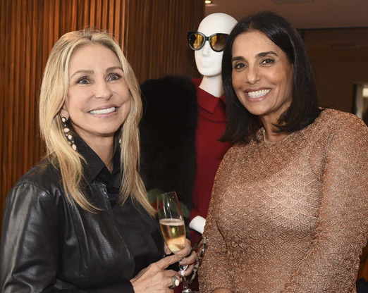 Regina Giacomelli e Ana Luiza Mansur