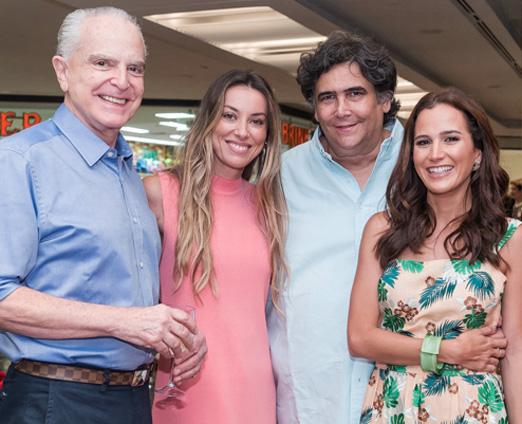 Ricardo Stambowsky, Fabiola Cabral, Antonio Neves da Rocha e Joana Nolasco