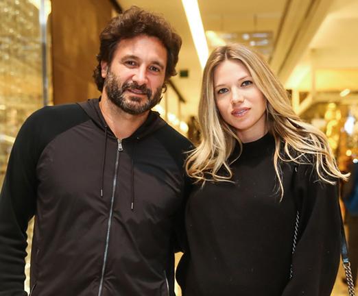 Rico Mansur e Melanie Ribbe