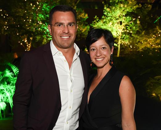 Rodrigo Bocardi com sua mulher Claudia