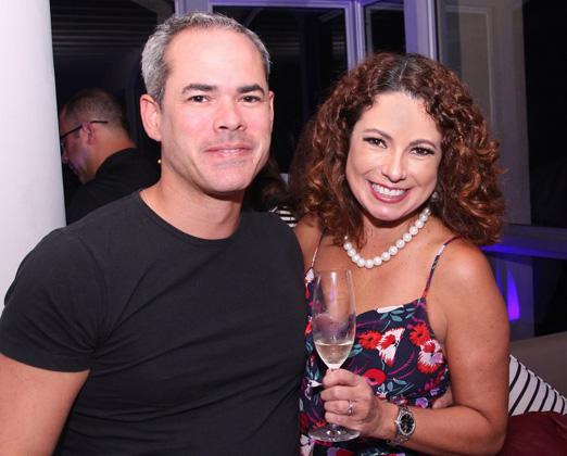Rodrigo Brites e Renata Araújo