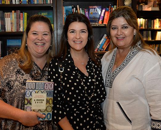 Suzana Portella, Cristiana Franco e Jeanette Sendas