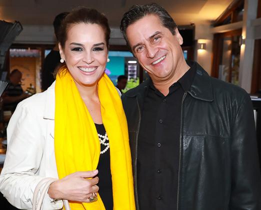 Suzy Rego e Fernando Vieira