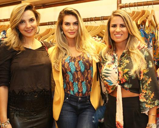 Talita Alves, Renata Molinaro e Ana Paula Barbosa