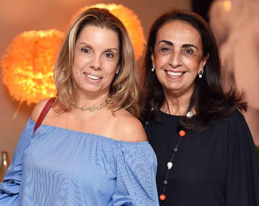Tania Pereira e Tania Carvalho
