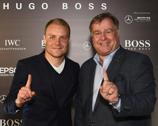 Valtteri Bottas e Holger Marquardt