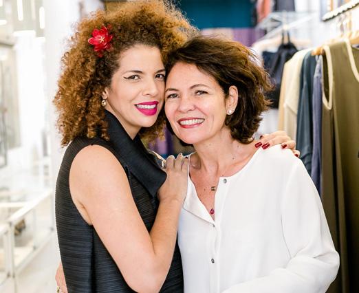 Vanessa da Mata e Roberta Damasceno